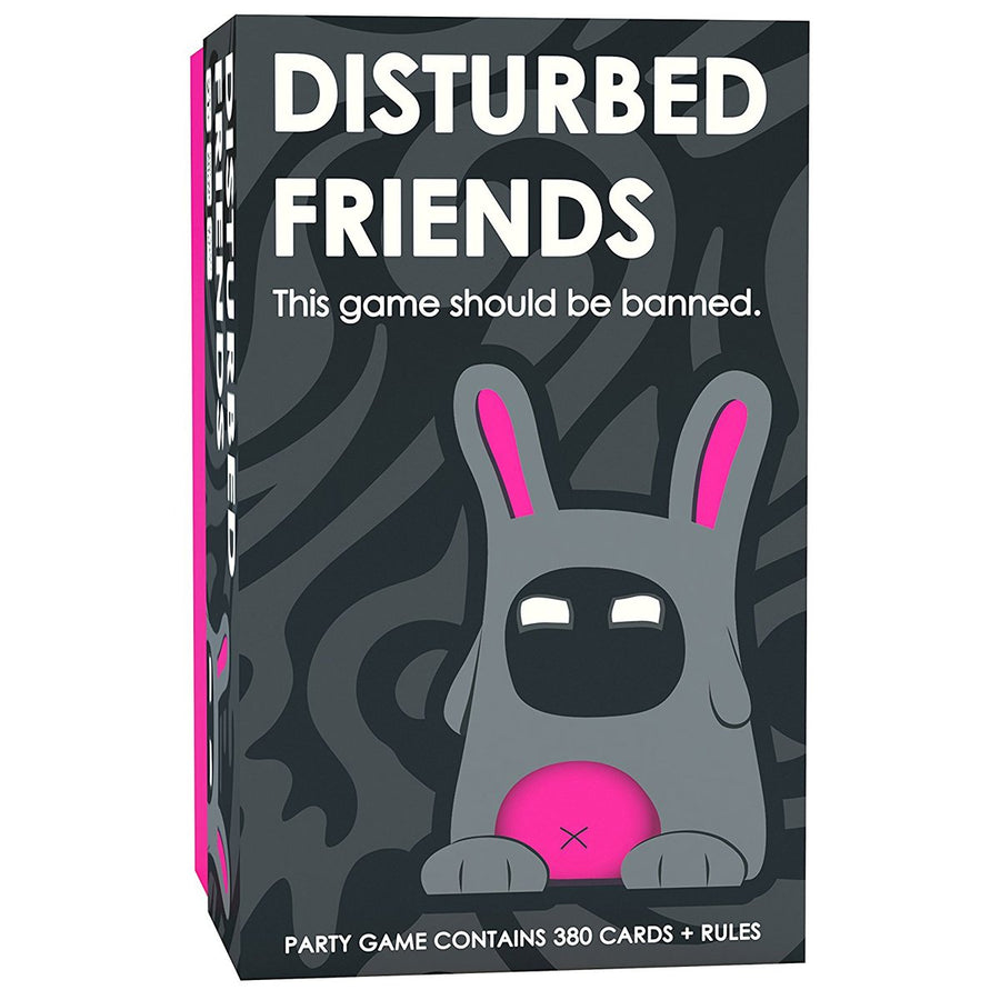 Disturbed Friends Card Game The Party Game Should be Banned