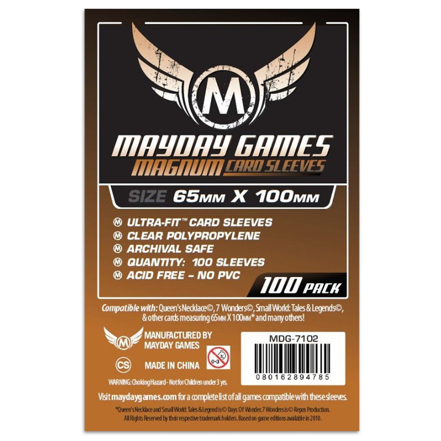Mayday Magnum Copper Sleeve Pack of 100 65 X 100 MM 7 wonders