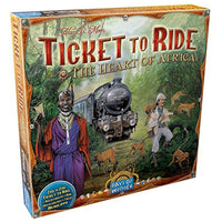 Ticket to Ride Africa Expansion Board Game Card Game