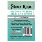 Sleeve Kings Board Game Sleeves Mini Chimera 43mm x 65mm 110ct