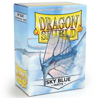Dragon Shield Standard 100ct Sky Blue MATTE 63x88mm Sleeves
