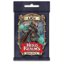 Hero Realms Lich Boss Deck Board Game