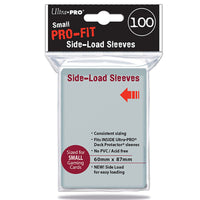 DECK PROTECTOR SMALL Pro-Fit Small Side Load Sleeve 100ct 60x87mm