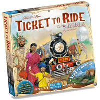 Ticket to Ride Map Collection: Volume 2 – India & Switzerland Card Game