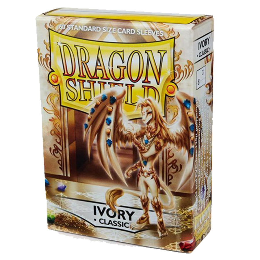Dragon Shield Classic Standard 60ct Ivory 63x88mm Sleeves