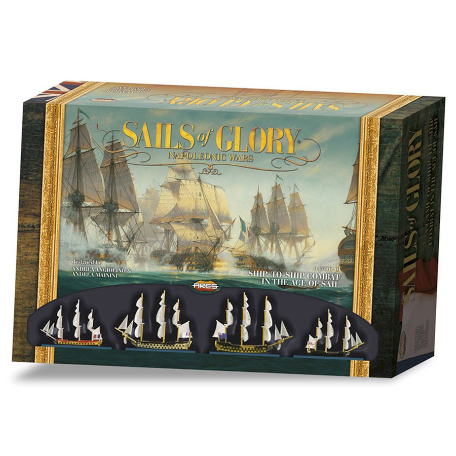 Sails of Glory Napoleonic Wars Ship Combat Game Board Game