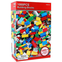 Building Construction Blocks 1000 pcs Young Kids Toys