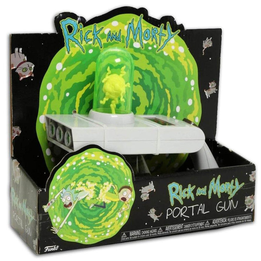 Rick and Morty Portal Gun Feature Toys Kids Xmas Gift