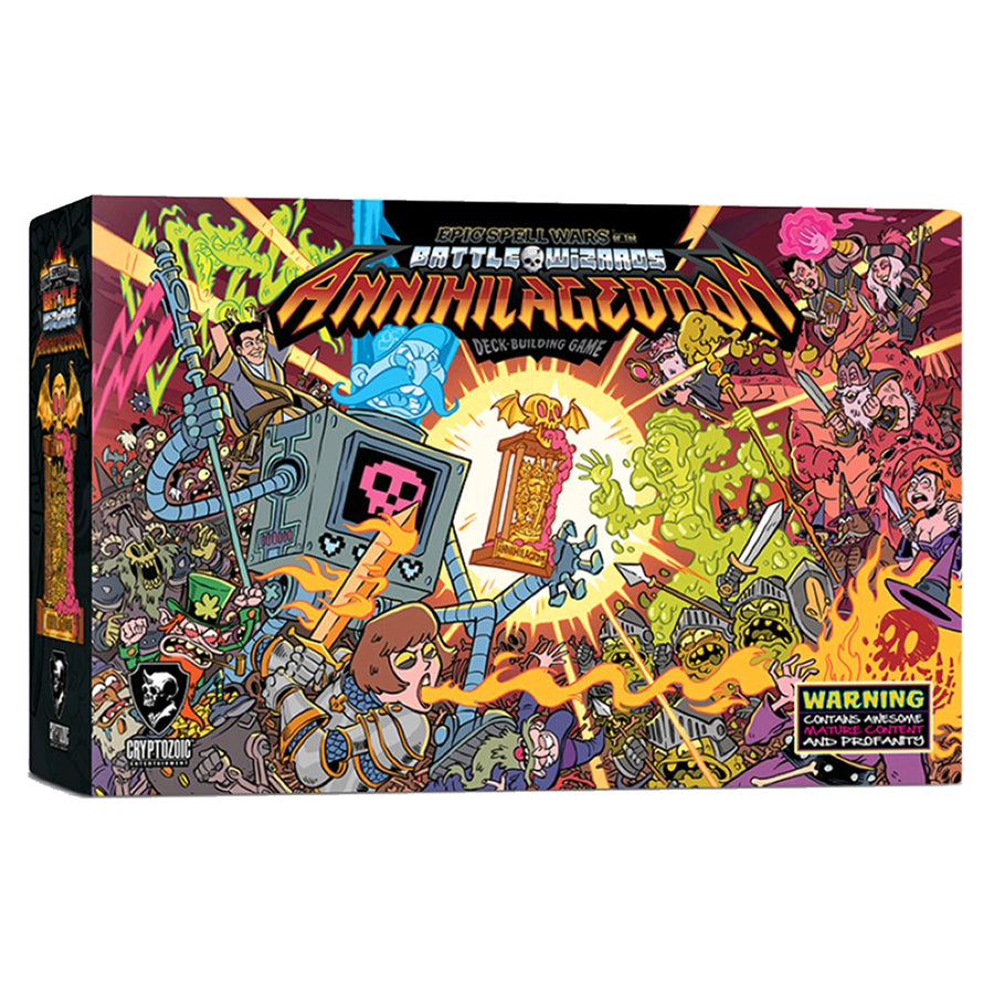 Epic Spell Wars of the Battle Wizards Annihilageddon Deck Building-Game