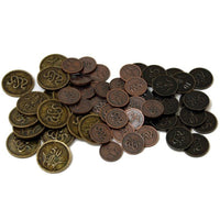 Sword and Sorcery Metal Coins