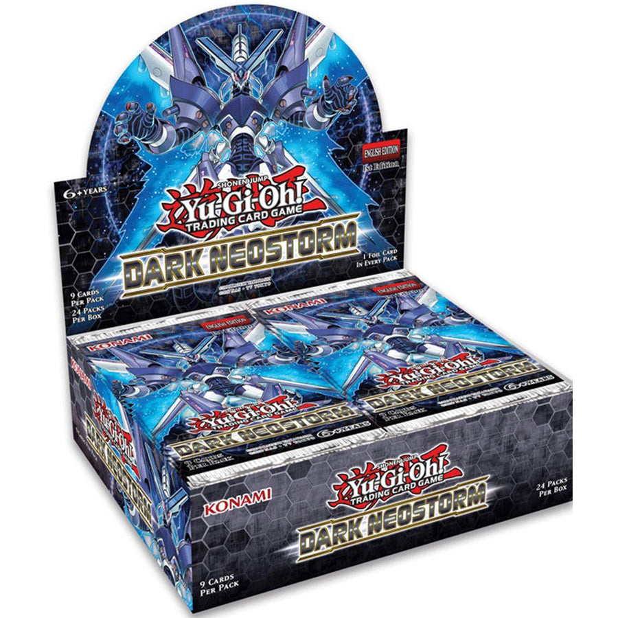 YUGIOH! TCG Dark Neostorm Booster Box Includes 24 Booster Packs