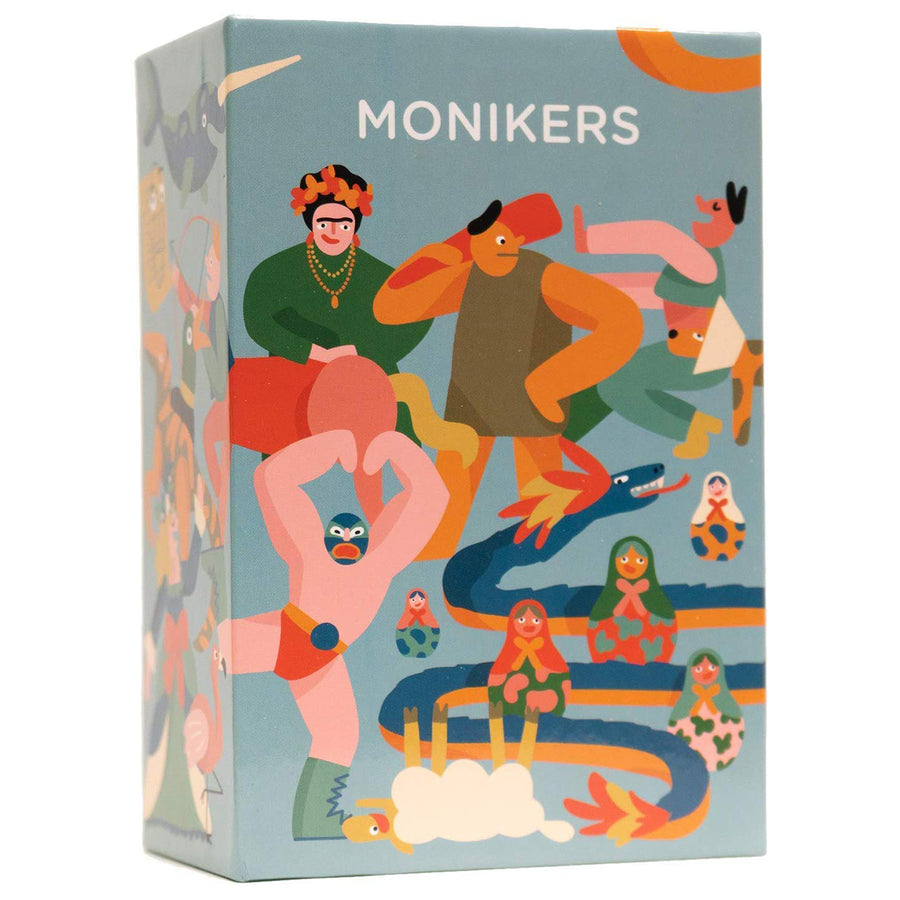 Monikers Board Game Card Game