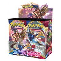 PREORDER POKEMON TCG Sword and Shield Booster Box Incl 36 Booster Packs