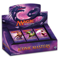 Magic The Gathering MTG Iconic Masters Booster Box Display - 24 Boosters