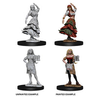 Pathfinder Deep Cuts Unpainted Miniatures Bartender Dancing Girl
