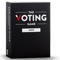 The Voting Game NSFW Expansion Party Game Board Game