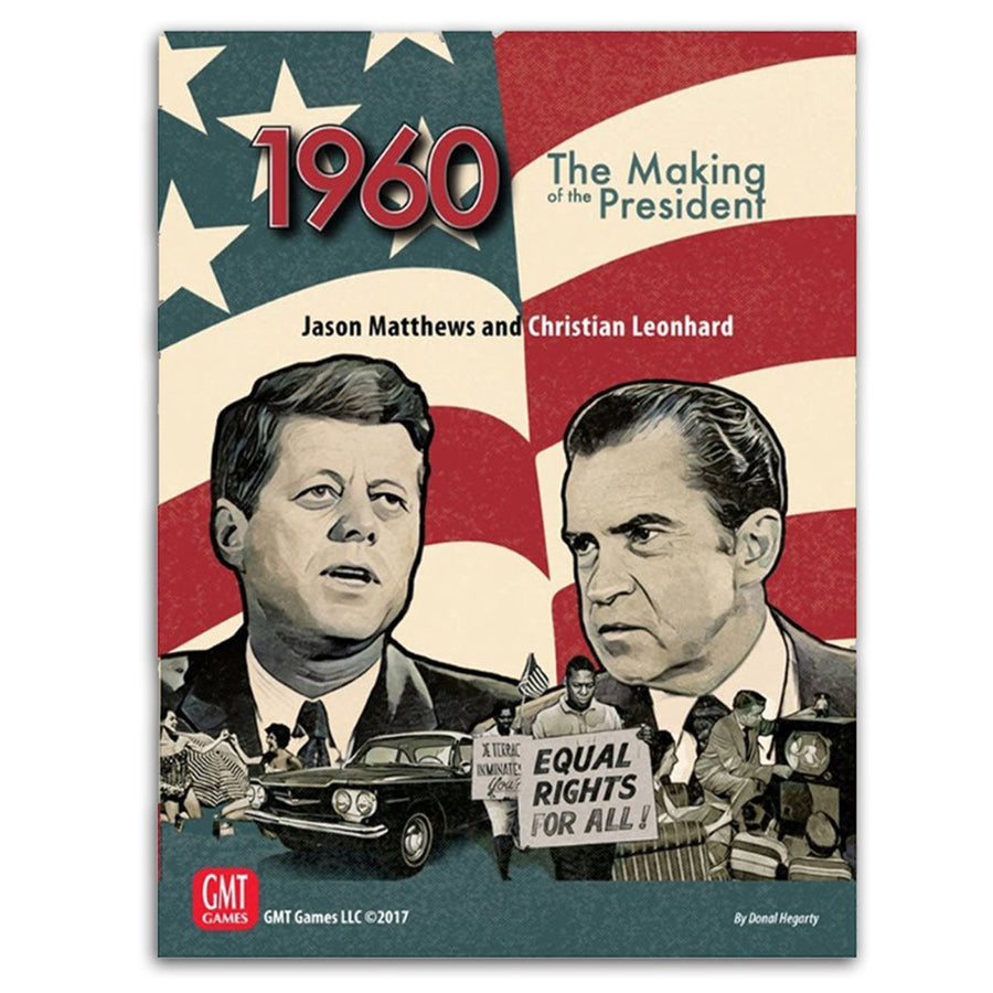 1960 The Making of the President Board Game
