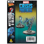Marvel Crisis Protocol Miniatures Game Beast and Mystique