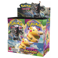 PREORDER POKEMON TCG Sword and Shield Vivid Voltage Booster Box Incl 36 Booster Packs