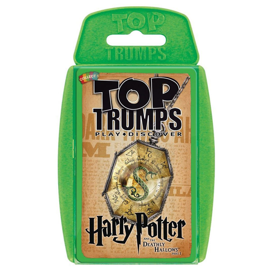 Harry Potter and the Deathly Hallows Part 1 Top Trumps Education Game Card Game