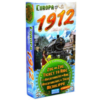 Ticket to Ride Europa 1912 Expansion Board Game Card Game