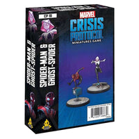 PREORDER Marvel Crisis Protocol Miniatures Game Spider Man & Ghost Spider