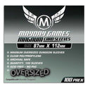 Mayday Magnum Standard Oversized Dungeon Sleeves 87X112mm 100ct Munchkin Dungeon