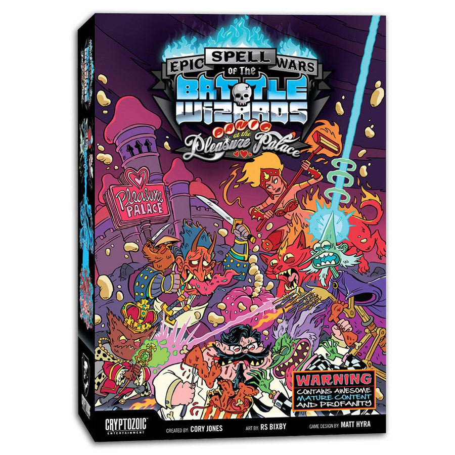 Epic Spell Wars of the Battle Wizards Panic at the Pleasure Palace Expansion
