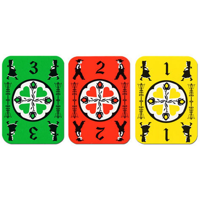 Dutch Blitz Green Card Game Board Game