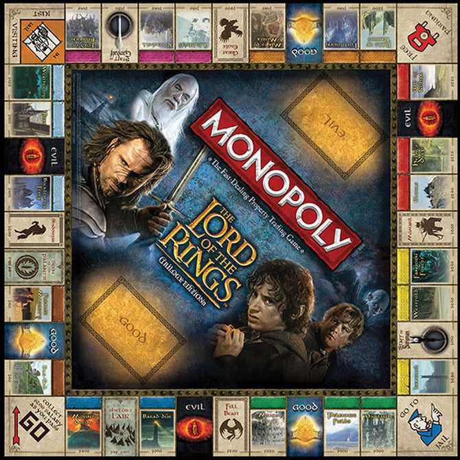 Spiele Lord Of The Rings Monopoly