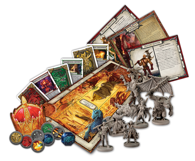 Talisman 4th revised edition the dragon expansion board game.
