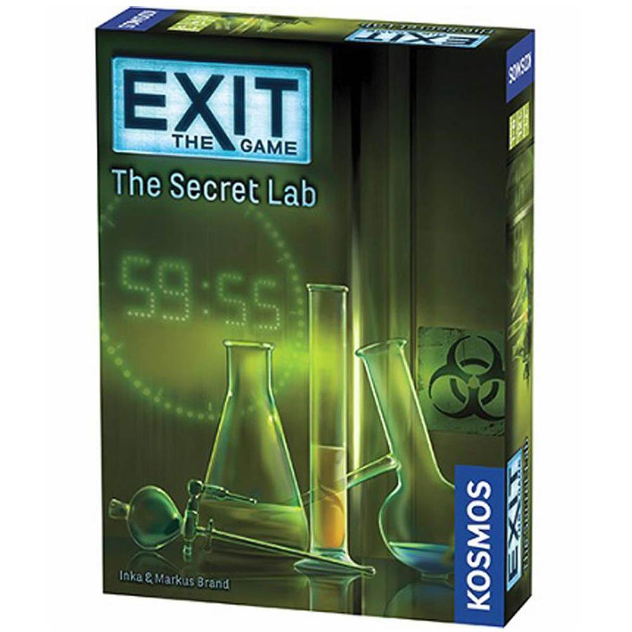 Exit the Game the Secret Lab Board Game Card Game