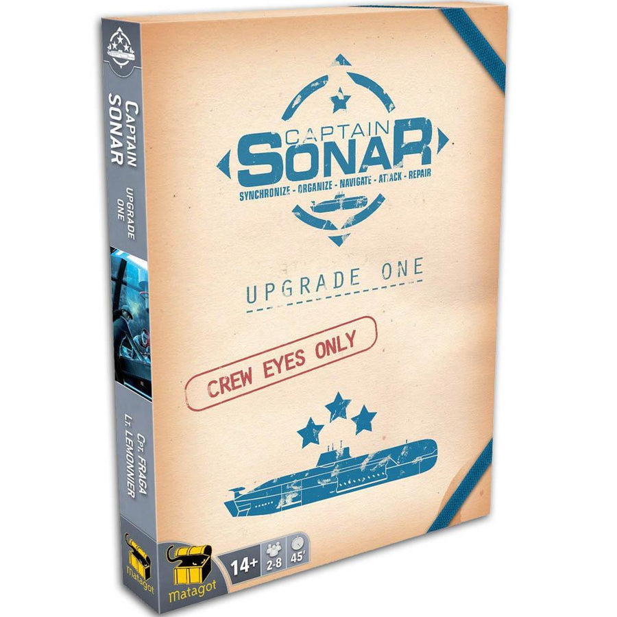 Captain Sonar Upgrade One Expansion Board Game Card Game