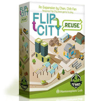 Flip City Reuse Expansion Strategy Game Card Game Board Game