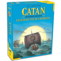 Catan Legend of the sea Robbers Board Game