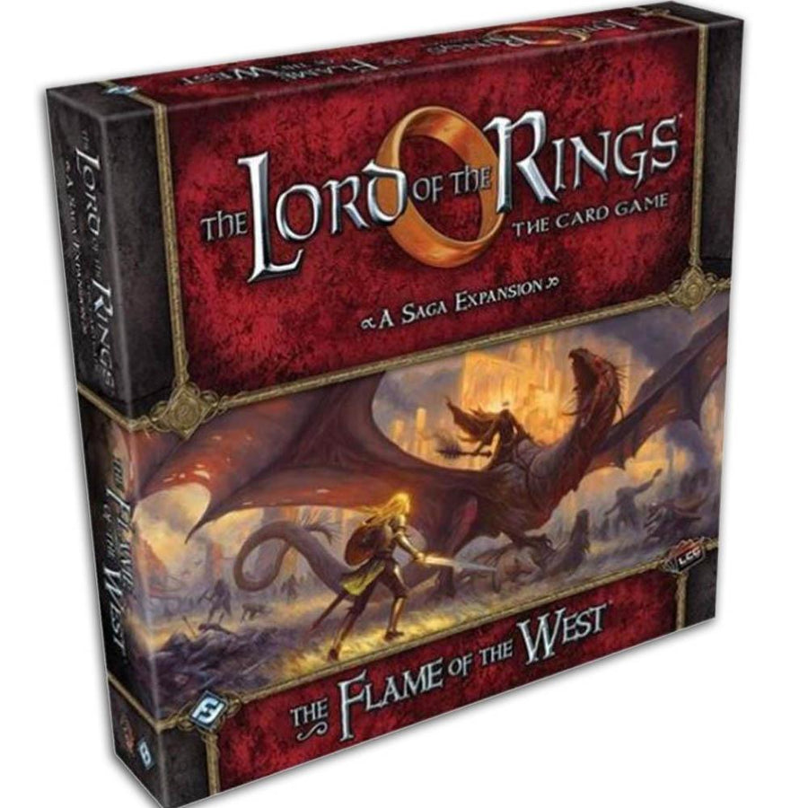 The Lord of the Rings LCG The Flame of the West Saga Expansion