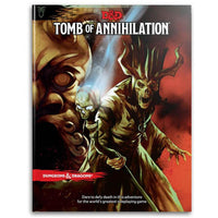 D&D Dungeons & Dragons Tomb of Annihilation Book Board Game