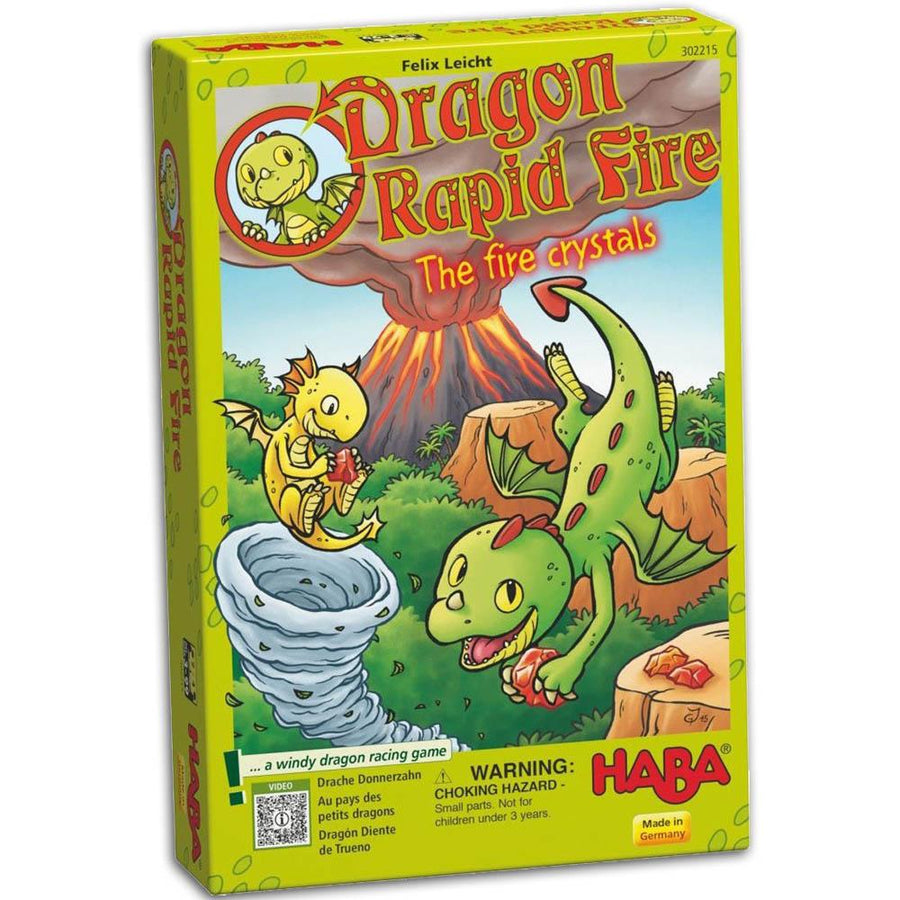 Dragon Rapid Fire - The Fire Crystals Board Game For Young Kids