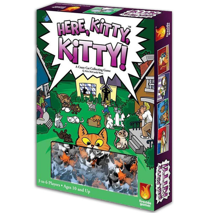 Here, Kitty, Kitty! Board Game