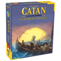 Settlers of Catan 5th Edition Explorers & Pirates - Extension for 5-6 Players