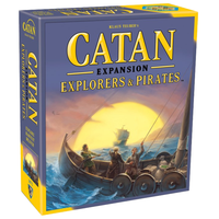 Settlers of Catan 5th Edition Explorers & Pirates Expansion