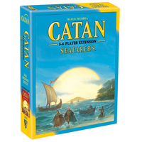 Settlers of Catan 5th Edition Seafarers Extension for 5-6 Players