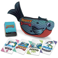 Happy Salmon Blue Card Game Family Game