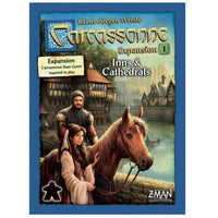 Carcassonne Inns & Cathedrals Expansion