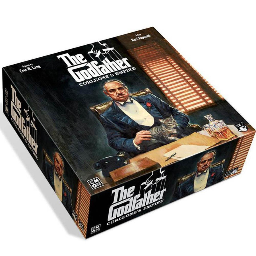 The Godfather Corleones Empire Board Game Card Game