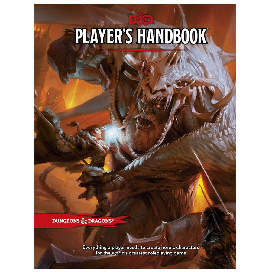 Dungeons & Dragons D&D Player's Handbook 5th Edition