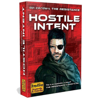 The Resistance Hostile intent Expansion Board Game