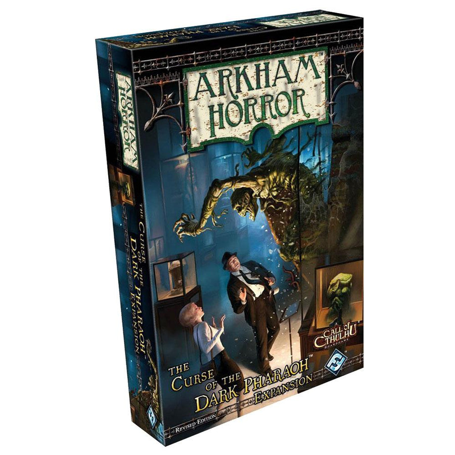 Arkham Horror Curse of the Dark Pharaoh Expansion Revised Edition
