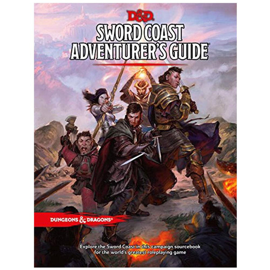 D&D Dungeons & Dragons Sword Coast Adventure Guide