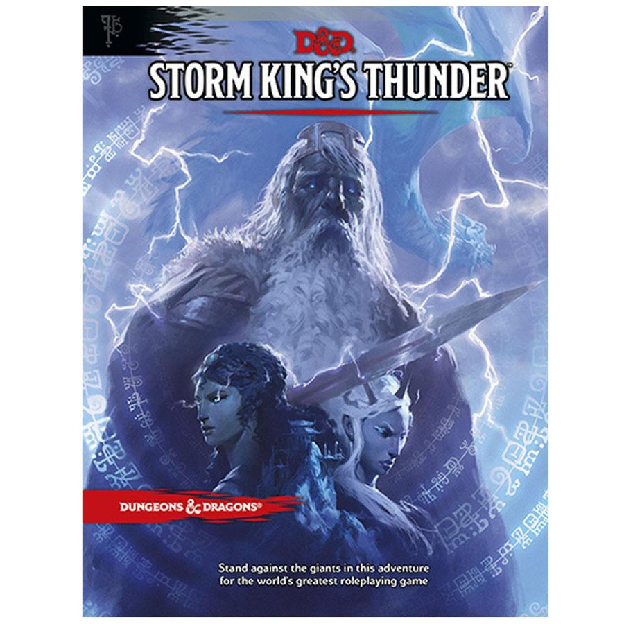 D&D Dungeons & Dragons Storm King's Thunders